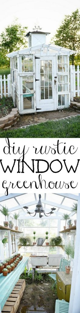 Rustic Greenhouse