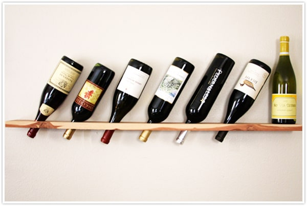 Sleek and Chic Wine Rack