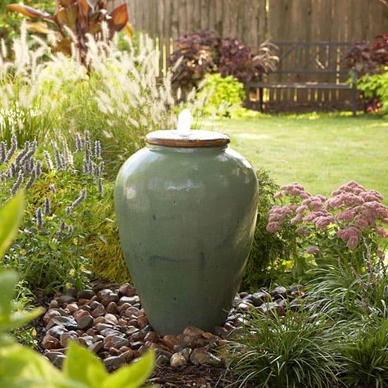 DIY Urn Fountain