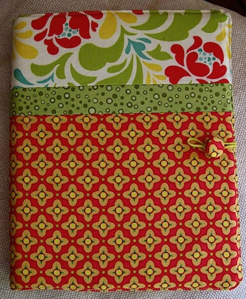 Reusable Sewn Fabric Notebook Cover