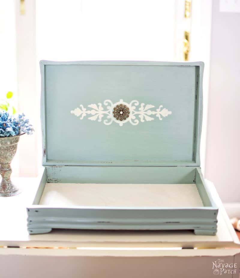 Silverware Box Upcycled Jewelry Box