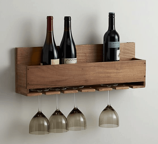 Wine & Glass Rack