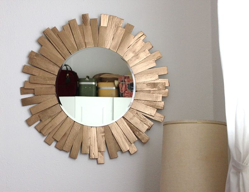 20 Easy Creative Diy Mirror Frame Ideas