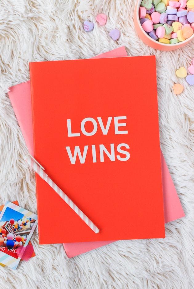 2 Minute Valentine Notebooks