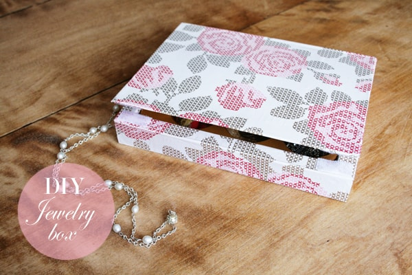 Chocolate Box to Jewelry Box DIY