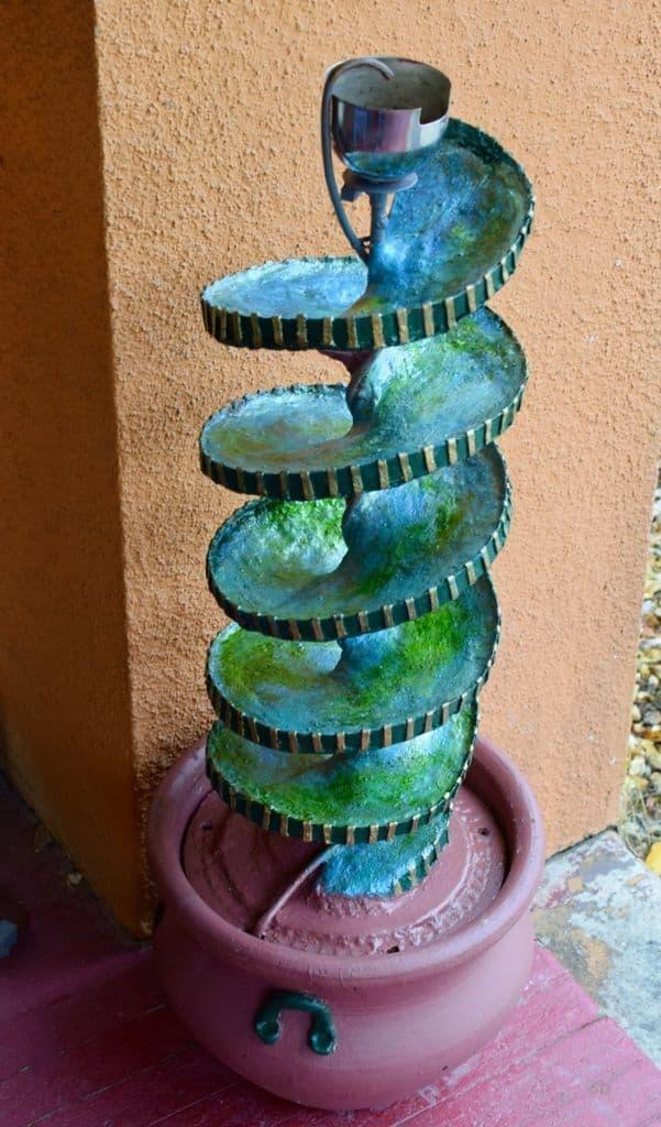 Unique Spiral Fountain