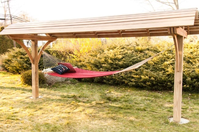 Hammock Stand With Roof