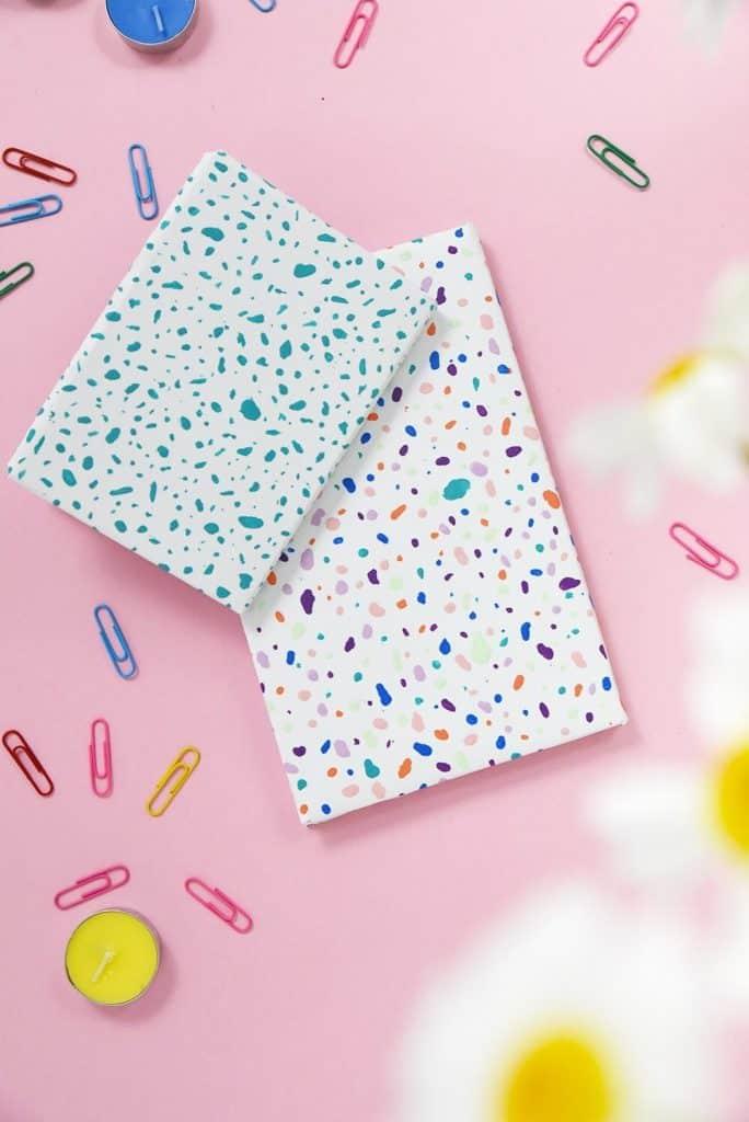 Terrazzo Style Notebooks