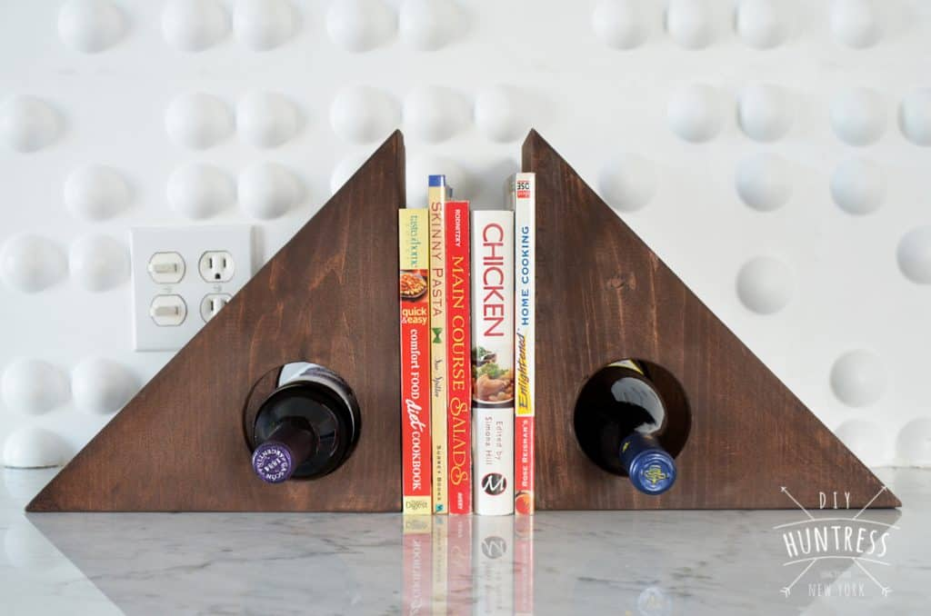 Wine Rack Book Ends
