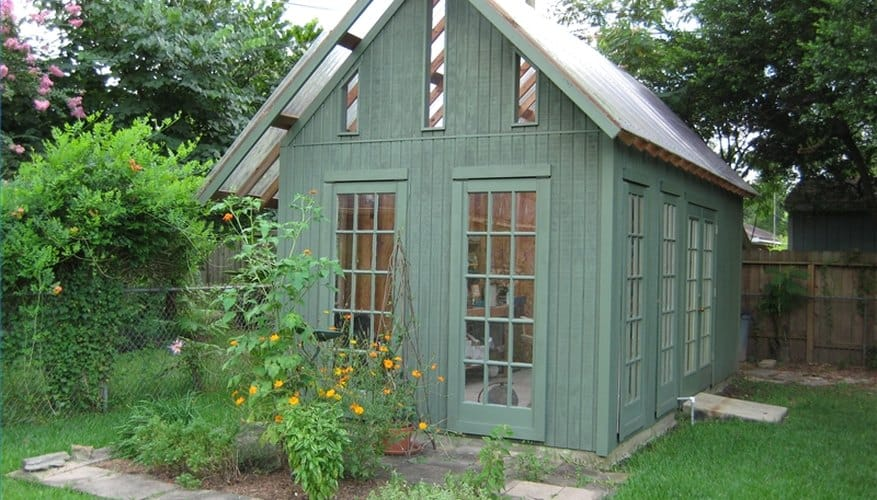 High-End Greenhouse Shed
