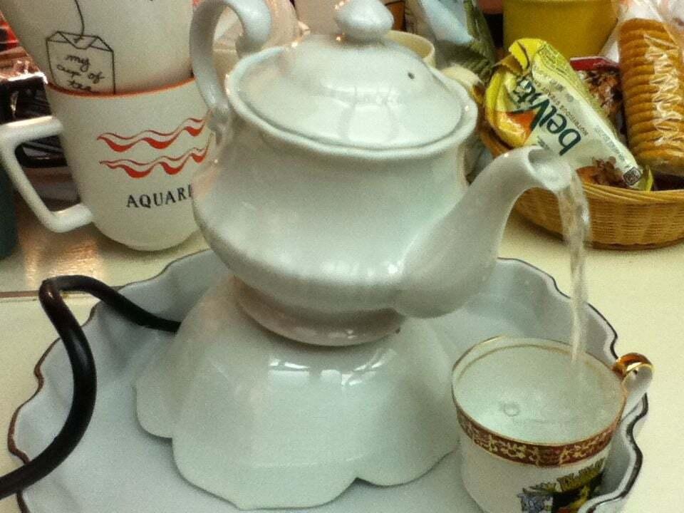 Indoor Teapot Fountain