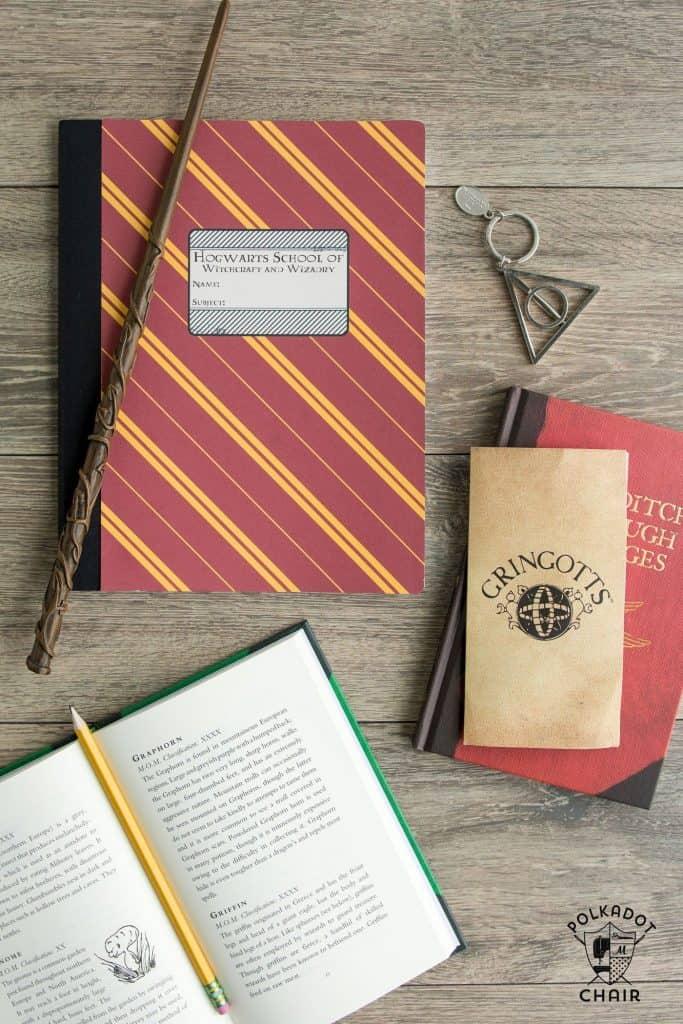 Harry Potter Hogwarts House Notebooks