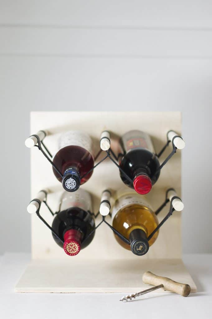 Hanging Bottles Wine Rack