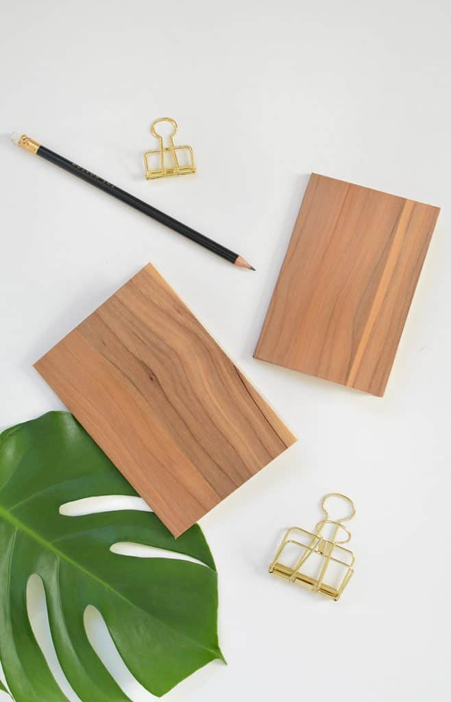 Wood Effect Notebook