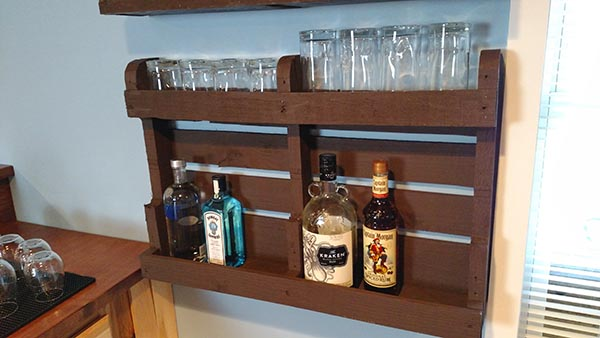 Home Bar Shelf