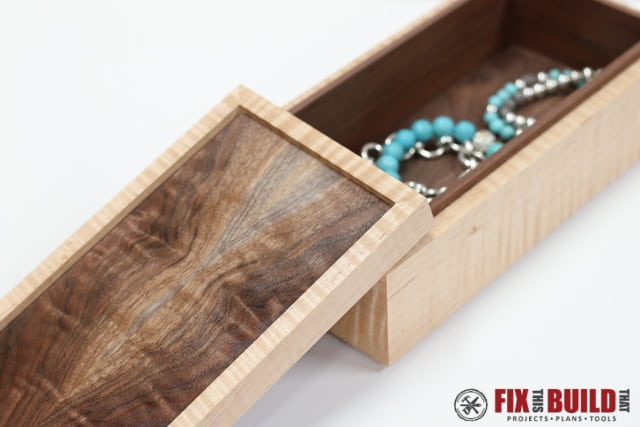 Simple DIY Wooden Jewelry Box