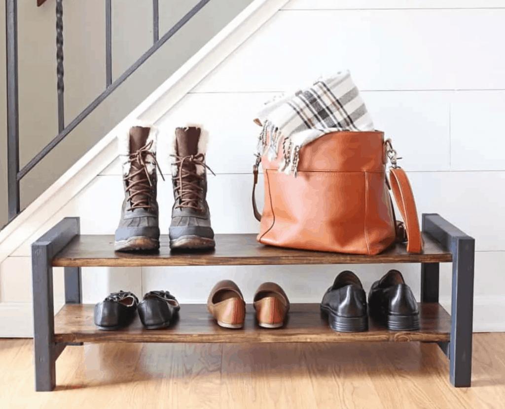 Entryway Shoe Rack