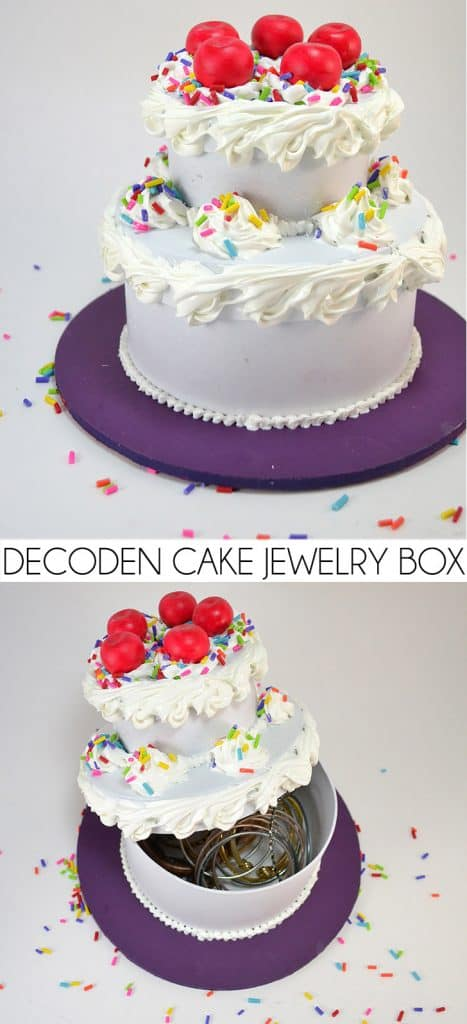 Fake Cake Secret Jewelry Box