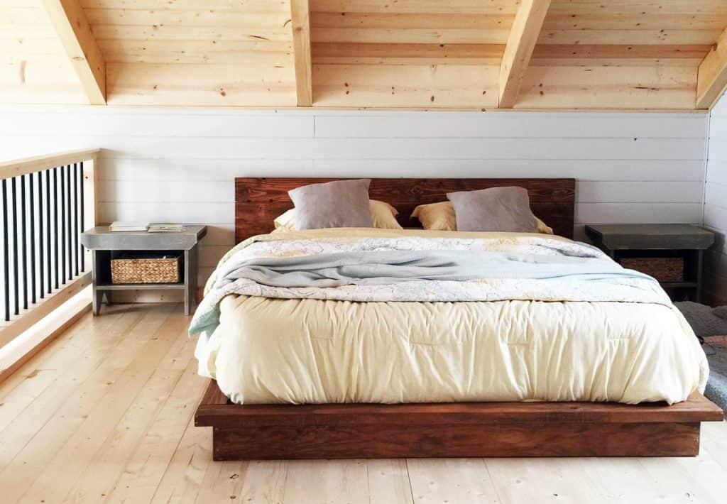 Rustic Wood Platform
