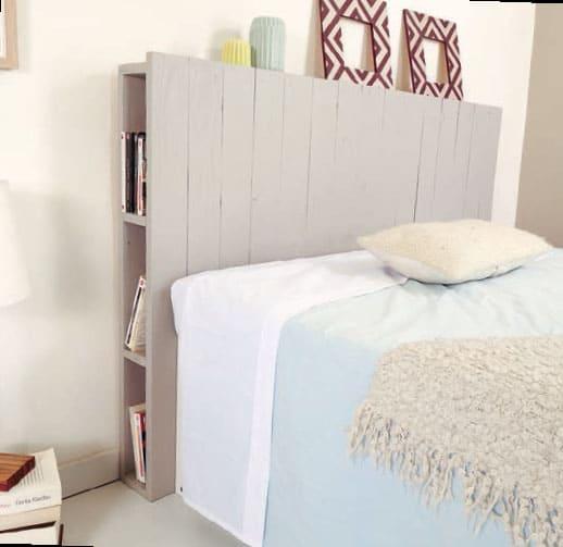 Headboard With Hidden Side Shelves
