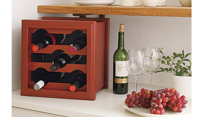 Planter Box Wine Rack