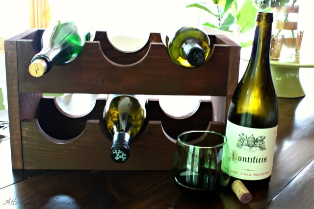 Cute and Classic Wine Rack