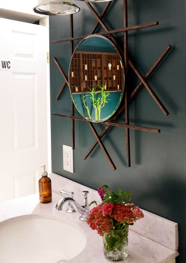 Wall Mounted Bathroom Vanity Mirror