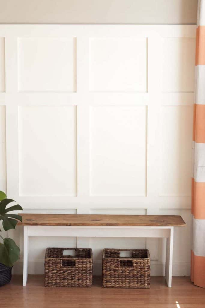 Simple & Chic Bench