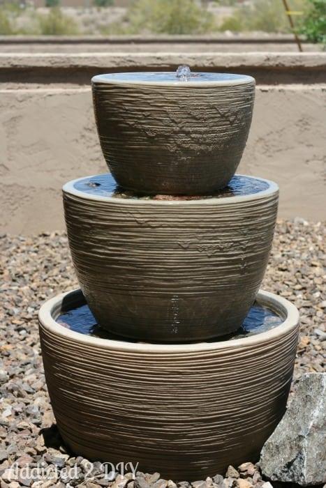 Three-Tiered Fountain
