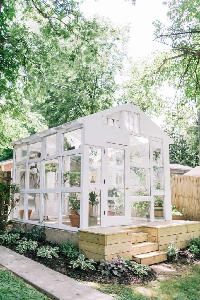 Bright & Airy Greenhouse