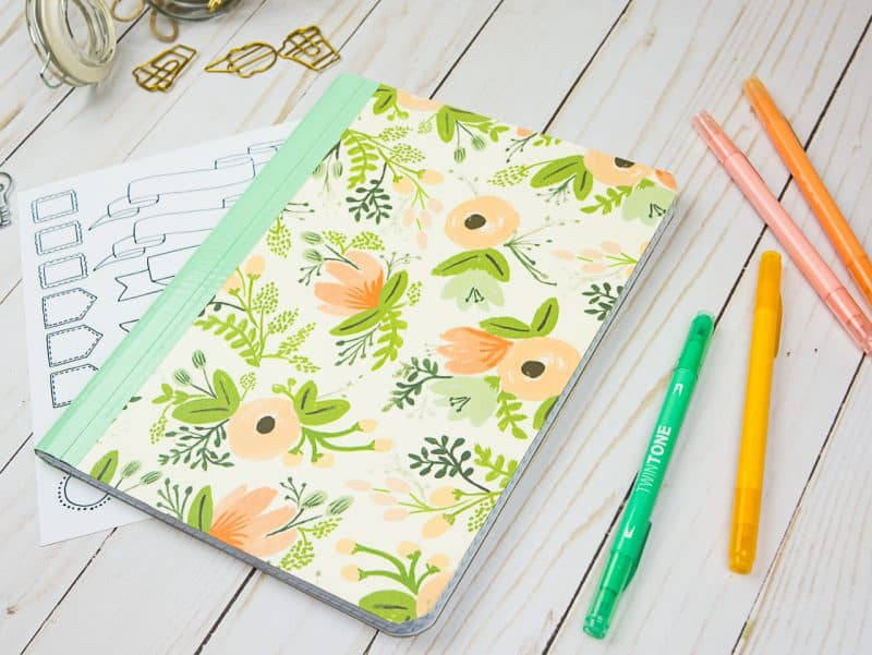 Stylish Scrapbooking Notebook Cover