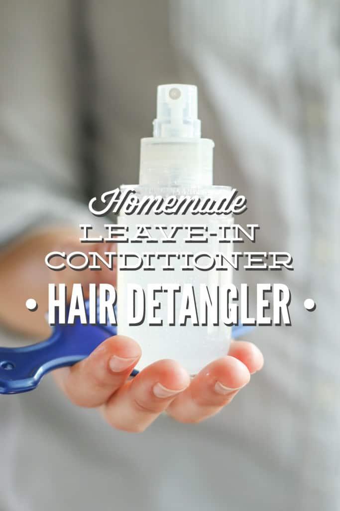 DIY Leave-In Hair Detangler