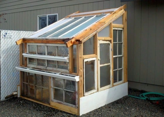 Budget-Friendly Lean-To Greenhouse
