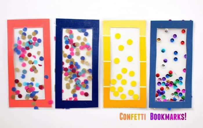 Confetti Bookmarks