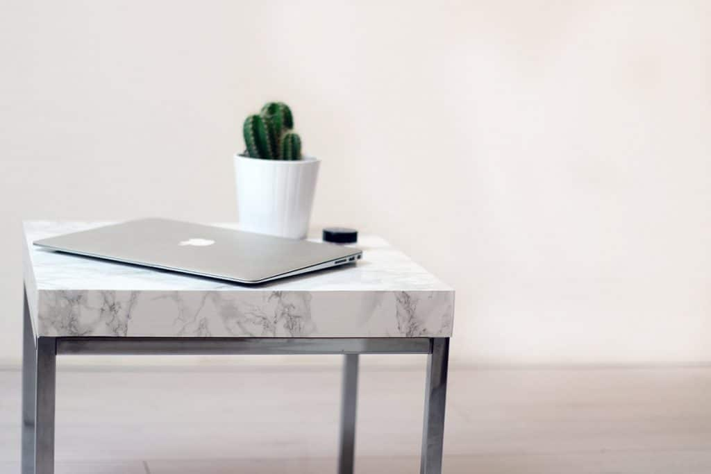 DIY Marble Table Upgrade