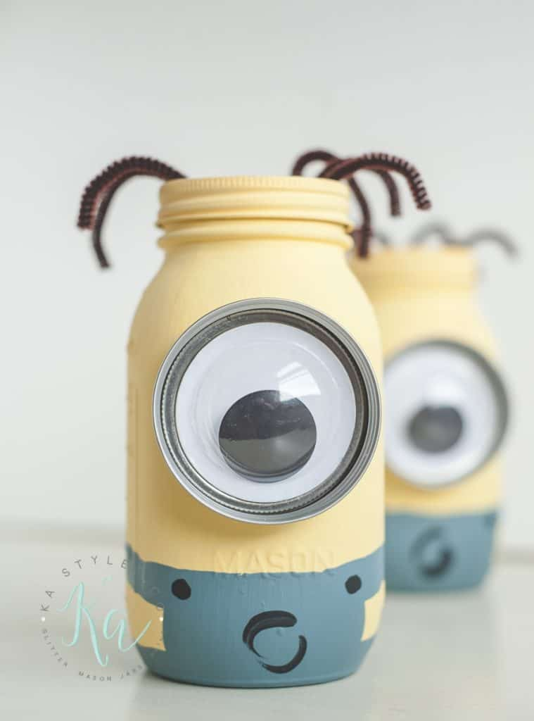 Minion Mason Coin Jars