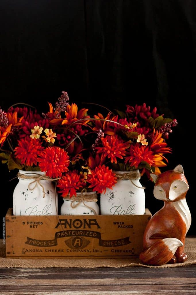 Painted Fall Centerpiece