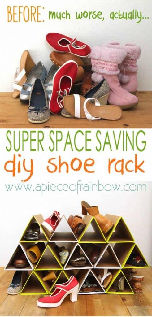 Space & Money Saving Shoe Rack