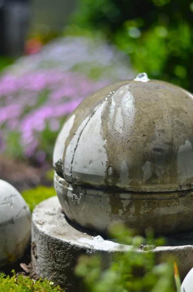 Concrete Bubble Fountain