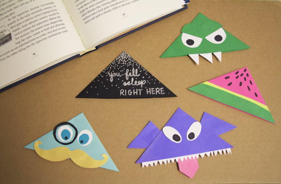 Cute Corner Bookmark