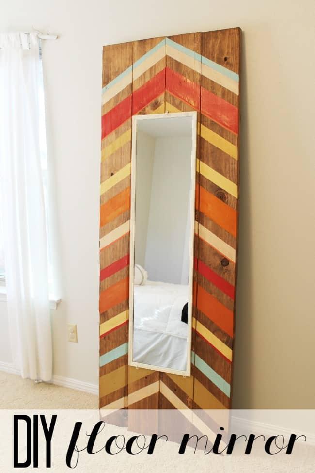 Full-Length Wood Frame