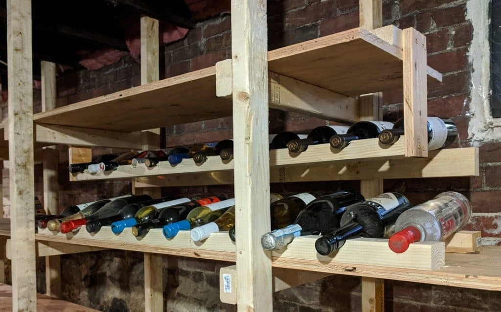 Industrial Wine Rack