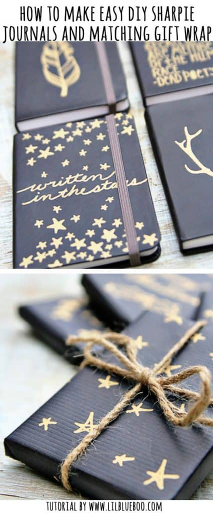 Sharpie Journal Cover Upgrades
