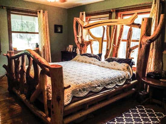 Log Cabin Bed