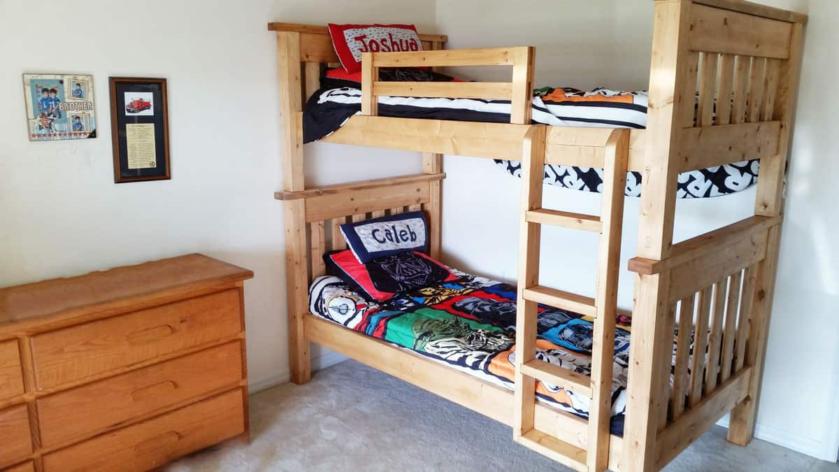 Easy Bunk Beds