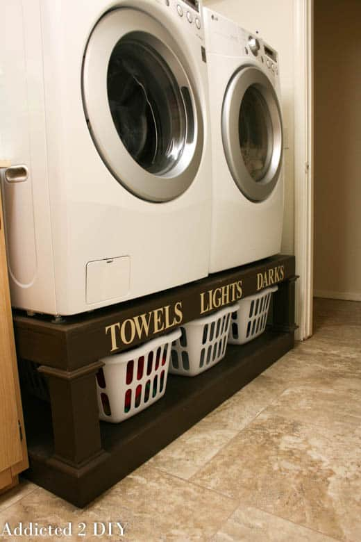 <strong>Farmhouse Sorter Pedestal for Washer and Dryer</strong>