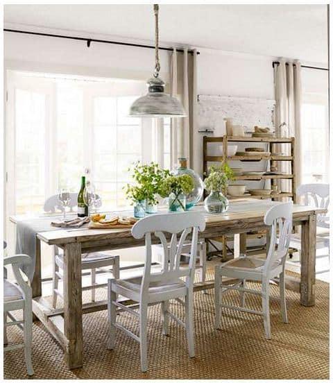 34 DIY Farmhouse Table Plans