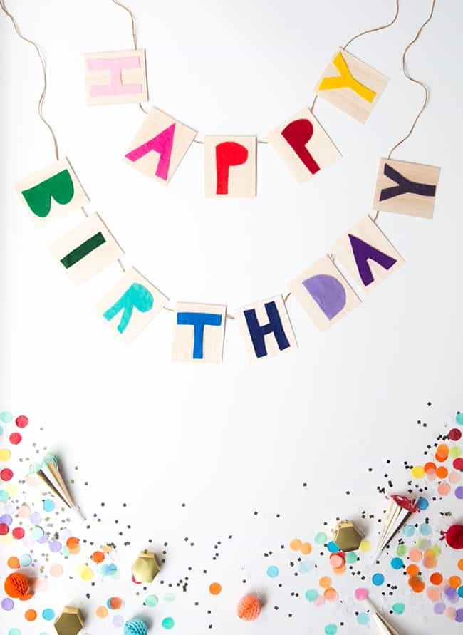 15 DIY Homemade Birthday Banner Ideas For Your Next Celebration