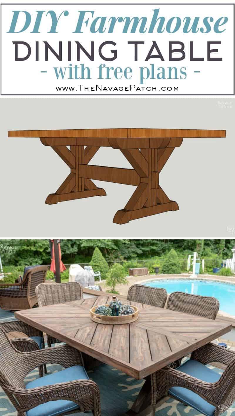 <strong>Trestle Farmhouse Table</strong>