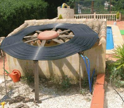 <strong>Flat Spiral Solar Pool Heater System</strong>